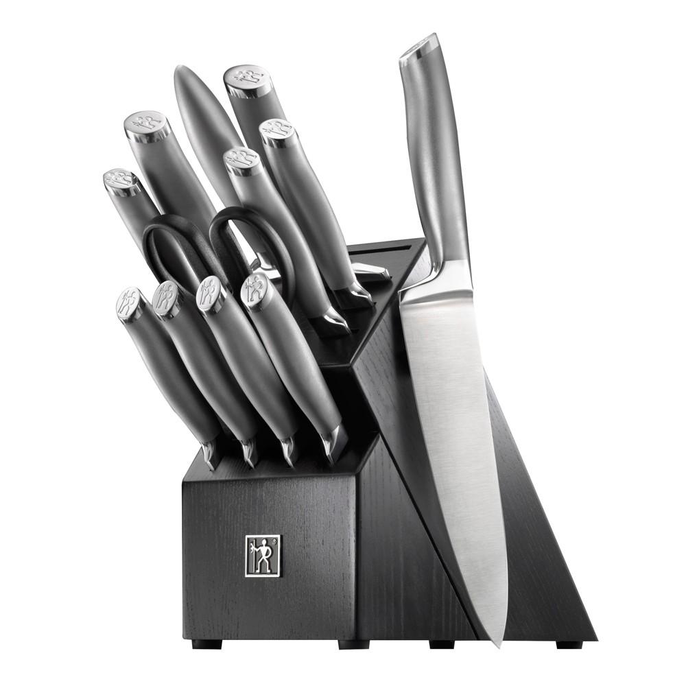 Image of Henckels International Modernist 13pc Block Set, Silver