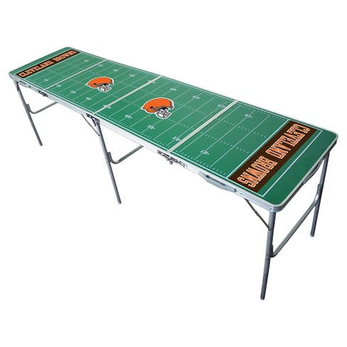 NFL Cleveland Browns Tailgate Table - 2'x8' - image 1 of 2