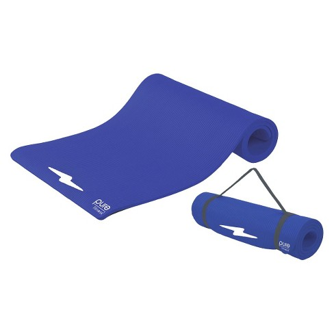 Pure Fitness® Deluxe Fitness Mat - Blue Iris - image 1 of 2