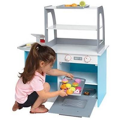 Svan Wooden Bakery Playset for Kids, 25 Pieces