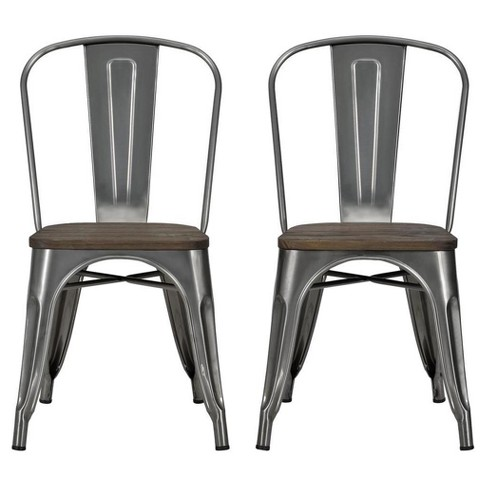 Fusion Metal Dining Chair (Set Of 2) - Dorel Home Products - image 1 of 5