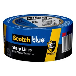 ScotchBlue Trim + Baseboards Painter's Tape with Edge-Lock, 1.88 in x 45 yd