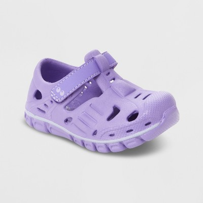 Baby Girls' Surprize by Stride Rite Rider Land & Water Shoes - Purple 5