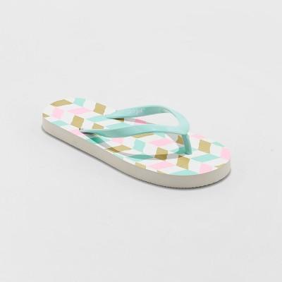 530c3cc24b18 Girls  Marguerite Sport Memory Foam Flip Flop Sandals - C9 Champion ...