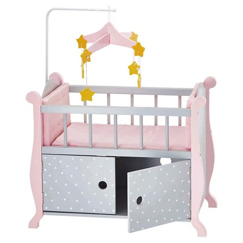 Olivia's Little World   Baby Doll Furniture   Nursery Crib Bed
