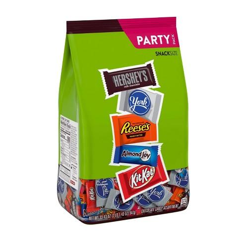 Hershey's, Reese's, Almond Joy, Kit Kat, York Assortment Bag - 33.43oz - image 1 of 3