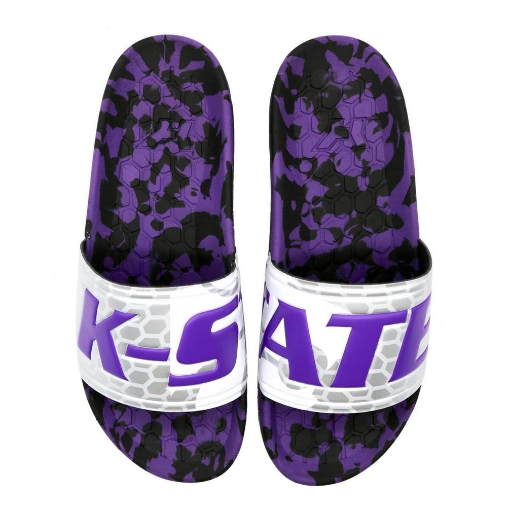 Ncaa Kansas State Wildcats University Slide Sandals W10 M8