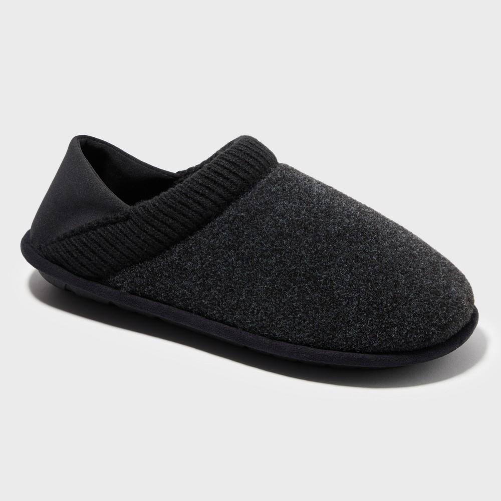 Men's Dearfoams Slide Slippers - Black S