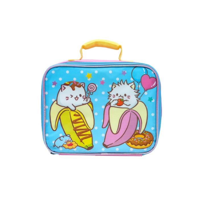 Crunchyroll Bananya Lunch Bag - Pink - image 1 of 5