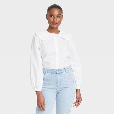 Women's Long Sleeve Blouse - Who What Wear