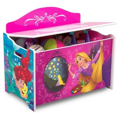 Delta Children Disney Princess Deluxe Toy Box