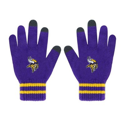 NFL Minnesota Vikings Embroidered Player Touch Gloves