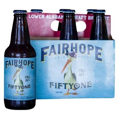 Fairhope 51 Pale Ale Beer - 6pk/12 fl oz Bottles