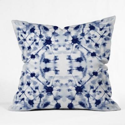 Jacqueline Maldonado Cosmic Connections Blue Throw Pillow Blue - Deny Designs