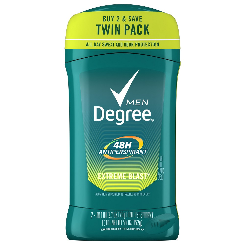 Image of Degree Men 48-Hour Extreme Blast Antiperspirant & Deodorant Stick - 2.7oz