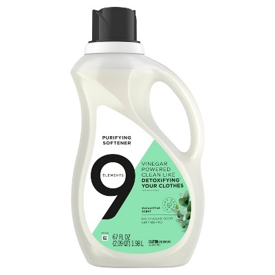 9 Elements Eucalyptus Scent Liquid Purifying Softener - 67 fl oz