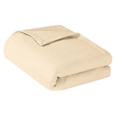 Bed Blanket Liquid Cotton Full/Queen Ivory