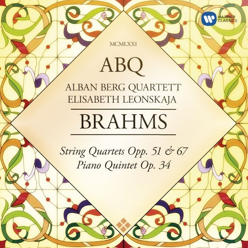 Alban Quartett Berg - Brahms:String Quartets Op 51 & 67 (CD) - image 1 of 1