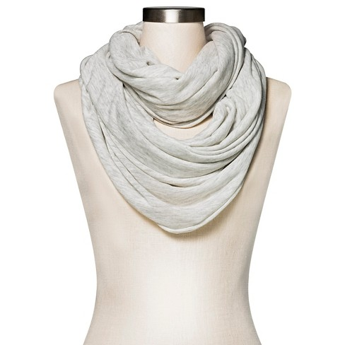Women's Loop Scarf - A New Day™ Heather Tan - image 1 of 2