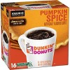 Dunkin' Donuts Pumpkin Spice Medium Roast Coffee - Keurig KCup Pods - 16ct - image 2 of 3