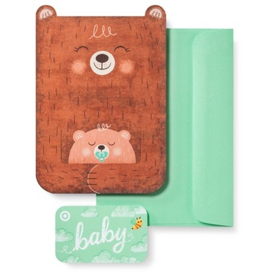 Baby Gift Card + free greeting card $50