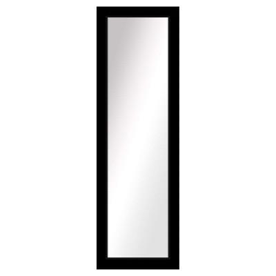 """16.5"""" x 52.5"""" Black Sentiments Decorative Mirror - PTM Images"""