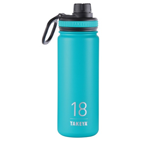Takeya Originals 18oz Insulated Stainless Steel Water Bottle with Spout Lid - image 1 of 4