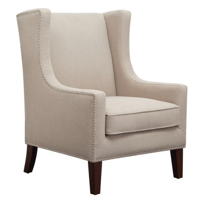 Superbe Colette Wing Chair Linen