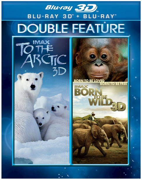 Imax:To The Artic/Born To Be Wild 3d (Blu-ray) - image 1 of 1