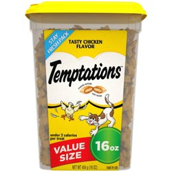 Temptations - Classic Treats for Cats Tasty Chicken Flavor - 16oz