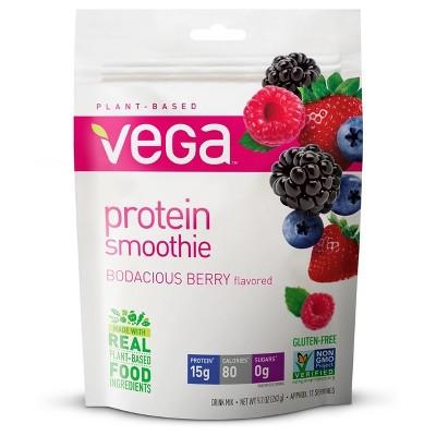 Vega Protein Smoothie Individual Pouch - Bodacious Berry - 9.2oz