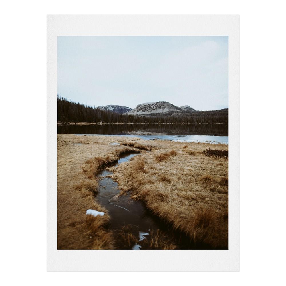 "Image of ""11"""" x 14"""" Garrett Lockh Down Along the Creek Wall Art Print Brown - society6"""