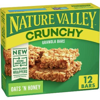 Nature Valley Crunchy Oats 'N Honey Granola Bars - 6ct