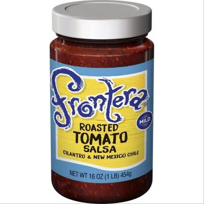 Frontera Gourmet Mexican Roasted Tomato Salsa Mild 16oz