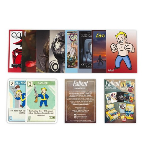 Dynamite Entertainment Fallout Trading Cards Series 2 | Sealed Blister Pack | Contains 10 Random Cards - image 1 of 4