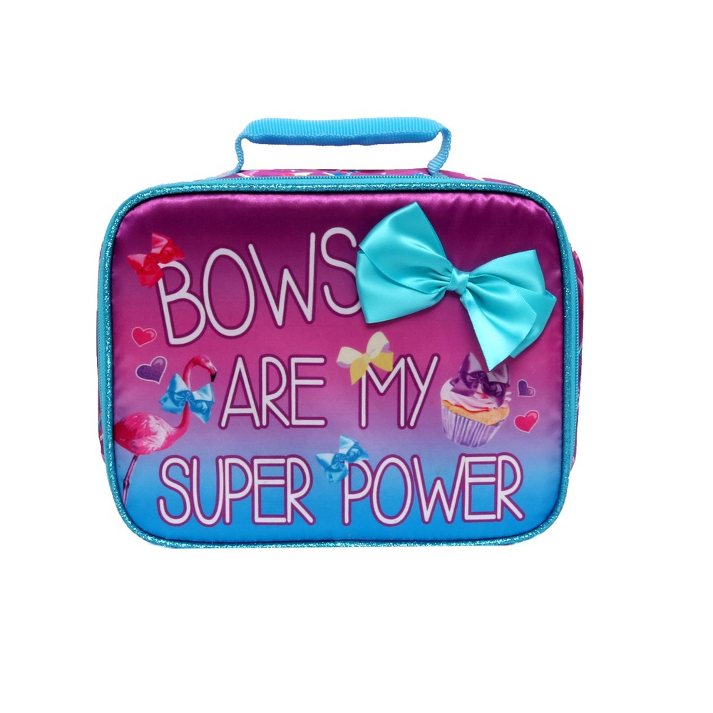 Image of JoJo Siwa My Super Power Lunch Tote - Pink, Pale Pink