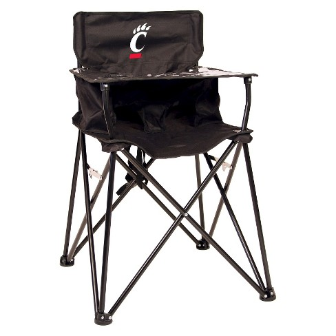 Fine Ciao Baby University Of Cincinnati Bearcats Portable High Chair In Black Ocoug Best Dining Table And Chair Ideas Images Ocougorg