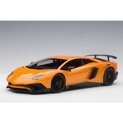 Lamborghini Aventador Orange >> Lamborghini Aventador Lp750 4 Sv Arancio Atlas Metallic Orange 1 18 Model Car By Autoart
