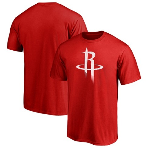 huge selection of 78b9e 8d44d NBA Houston Rockets Men's Monochrome Standard T-Shirt