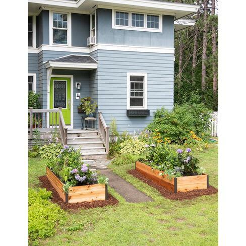 "Cedar Raised Garden Bed 3' x 4' x 15"" - Gardener's Supply Company - image 1 of 2"