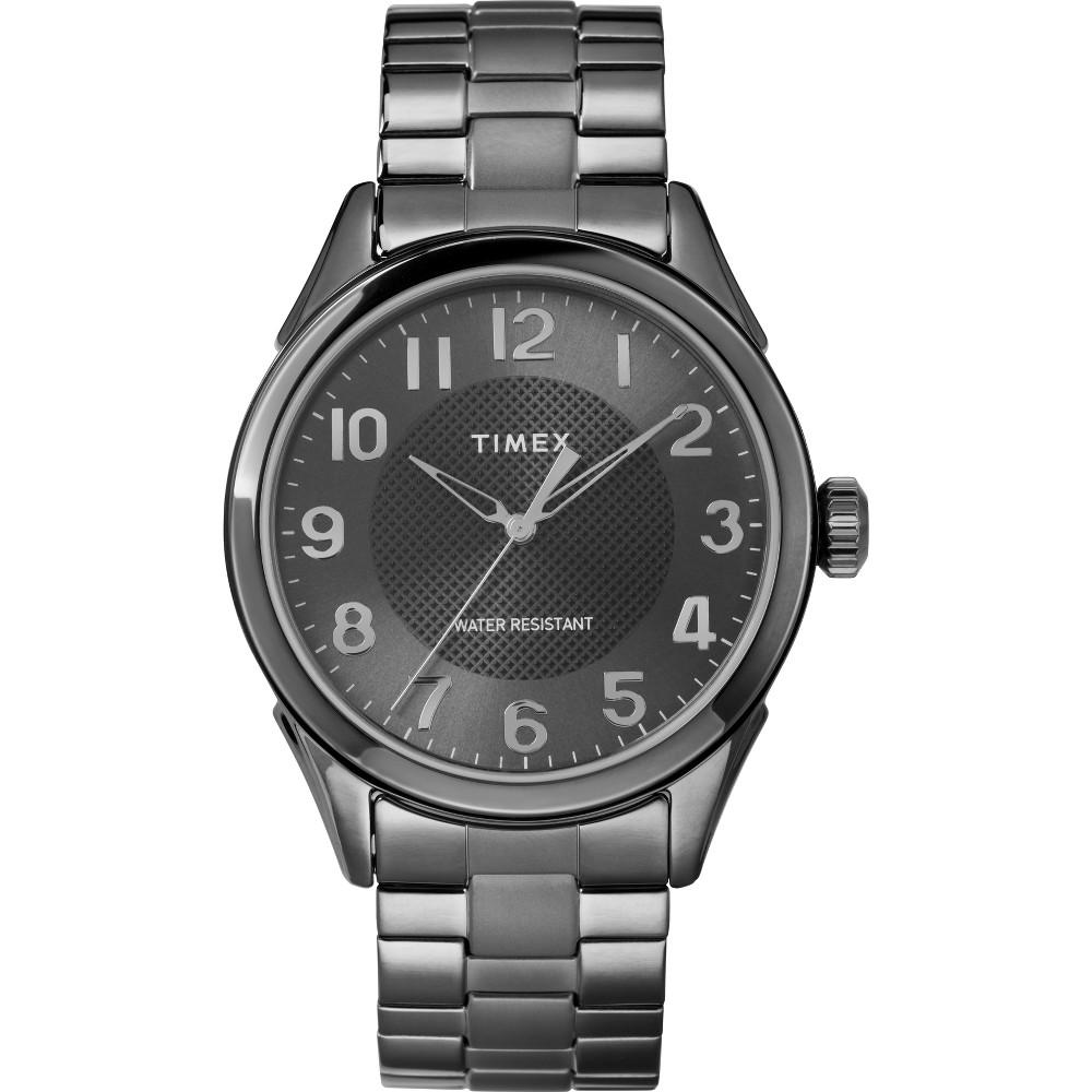 Men's Timex Expansion Band Watch - Gunmetal TW2T46000JT, Size: Large