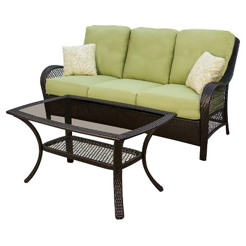 2pc Patio Seating Set Hanover - image 1 of 6