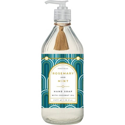 Chateau Hand Soap Rosemary and Mint - 16 fl oz