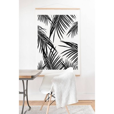 """11"""" x 14"""" Anita and Bella Palm Leaves Dream Framed Wall Poster Print and Hanger - Deny Designs"""