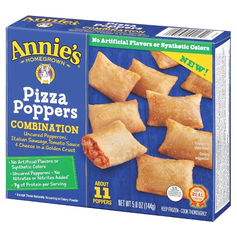Annie's Frozen  Pizza Poppers Combination - 11ct/5oz - image 1 of 1