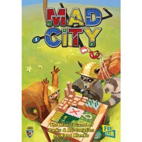 Mad City Board Game - image 1 of 1