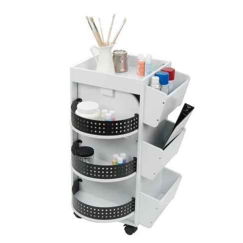 Swivel Mobile Craft Organizer - White - Studio Designs - image 1 of 4