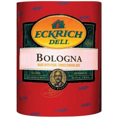 Eckrich Deli Beef Bologna - Deli Fresh Sliced - price per lb
