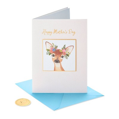 Mother's Day Greeting Card BOHO Deer - PAPYRUS