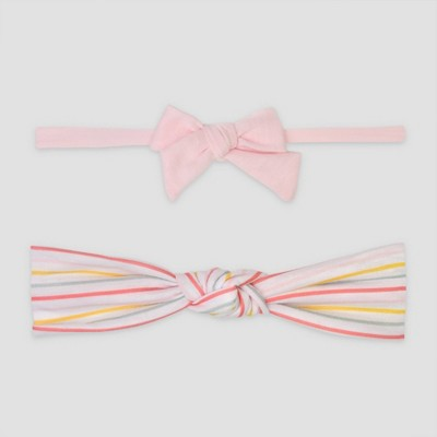Baby Girls' 2pk Rainbow Headwrap - Just One You® made by carter's